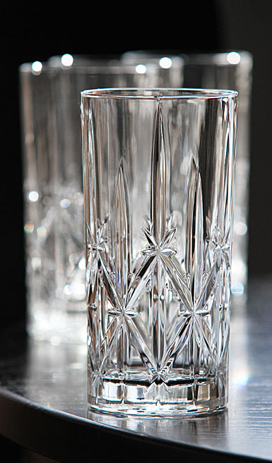 Marquis by Waterford Crystal, Sparkle Crystal Hiball, Set of Four
