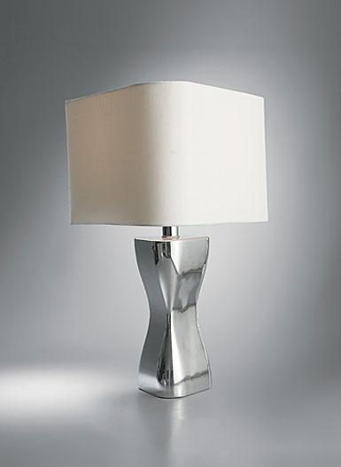 Nambe Virgo Table Lamp