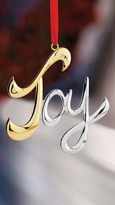 Nambe 2018 Joy Ornament