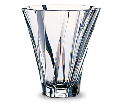 Baccarat Crystal, Objectif Small Crystal Vase 8 1/4""