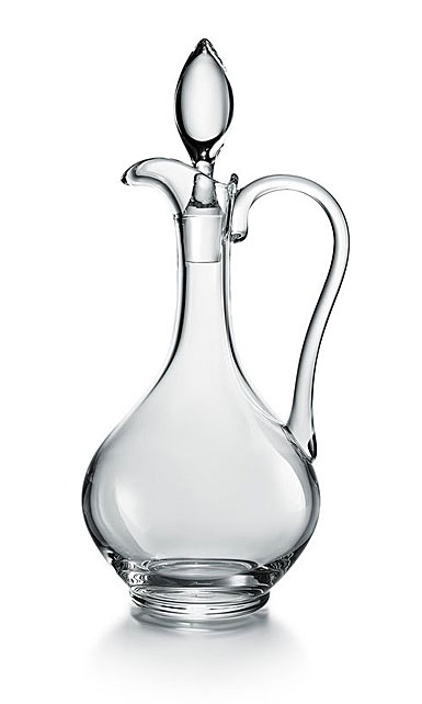 Baccarat Crystal, Oenologie With Handle Crystal Decanter