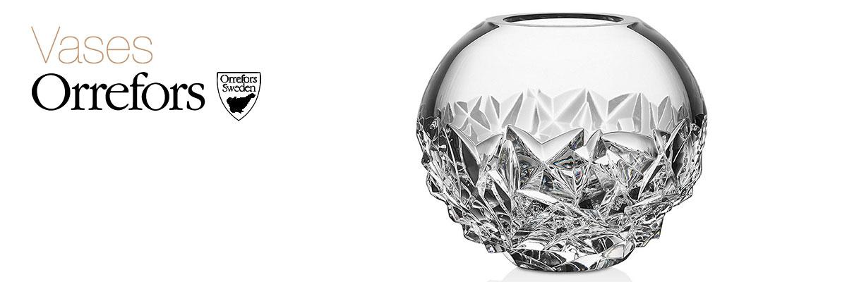 Orrefors Crystal Vases