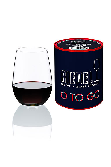 Riedel o to go red wine each Wine glasses to go