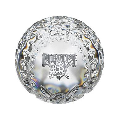 Waterford Pittsburgh Pirates Crystal Baseball