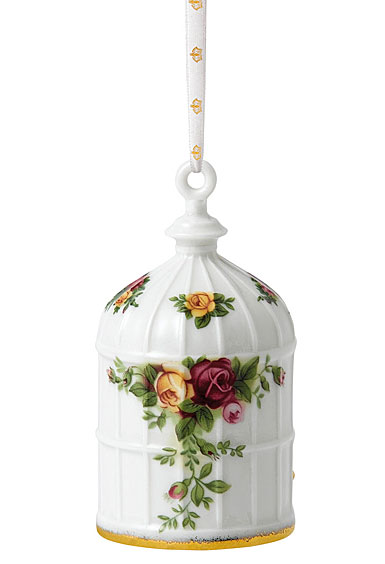 Royal Albert Old Country Roses Birdcage 2018 Ornament