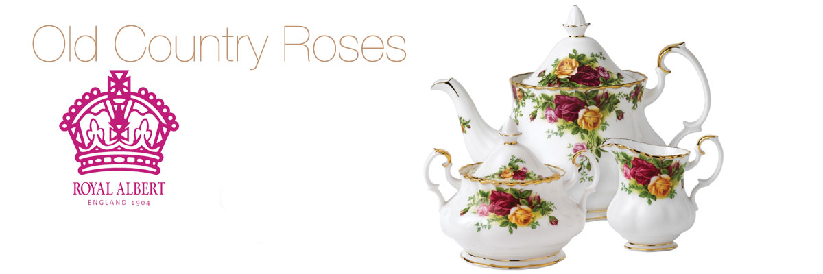 Royal Albert Old Country Roses Collection | Crystal Classics