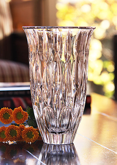 "Marquis by Waterford Crystal, Rainfall 9"" Crystal Vase"