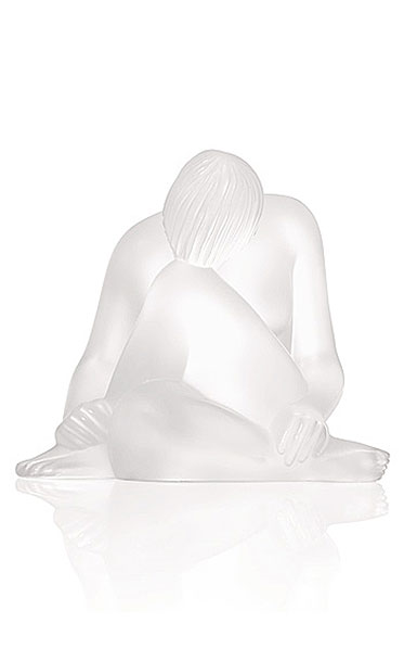 Lalique Crystal, Nude Reve Sculpture, Clear