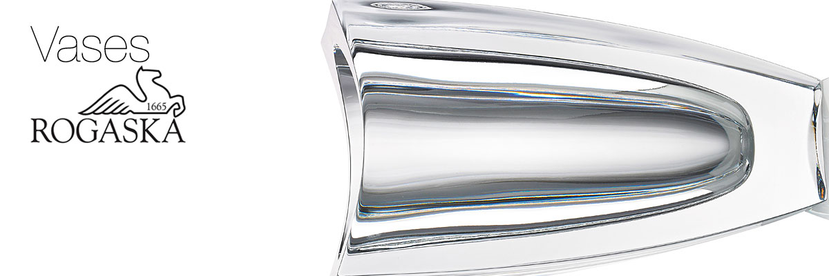 Rogaska Vases Collection Crystal Classics