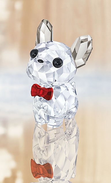 Swarovski Crystal, Puppy Bruno The French Bulldog