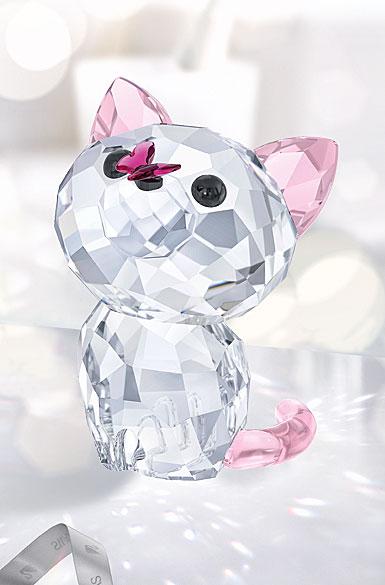 Swarovski Crystal, Kitten Millie The American Shorthair