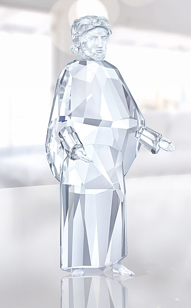 Swarovski Crystal, Nativity Crystal Figure, Joseph