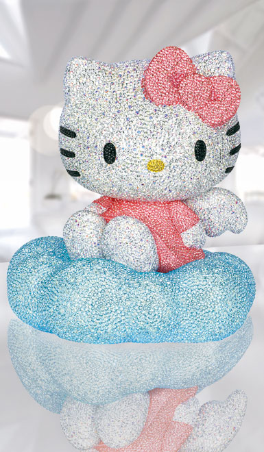 Swarovski Crystal, Myriad Hello Kitty Sculpture, Limited Edition 2017