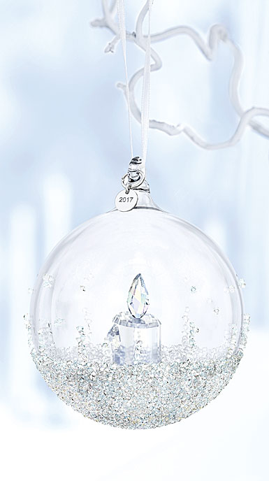 Swarovski 2017 Annual Christmas Ball Ornament