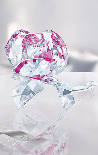 Swarovski Crystal, Blossoming Rose, Ruby