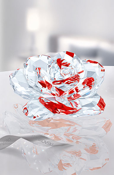 Swarovski Crystal Light Siam Rose