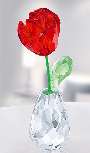 Swarovski Flower Dreams Red Rose