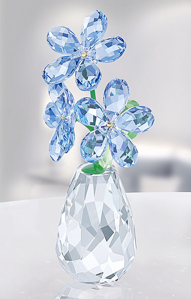 Swarovski Crystal Flower Dreams Forget Me Not
