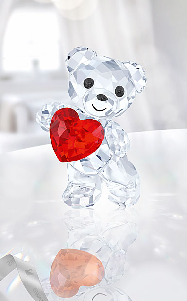 Swarovski Crystal, Kris Bear A Heart For You, Light Siam