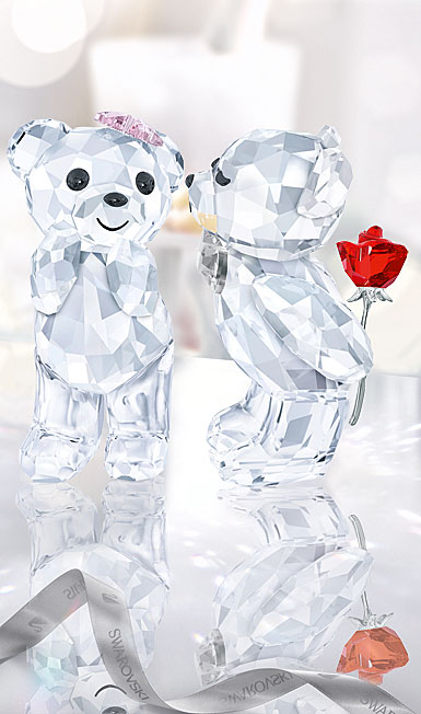 Swarovski Crystal, Kris Bears, A Lovely Surprise