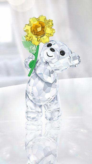 Swarovski Crystal, Kris Bear A Sunflower For You