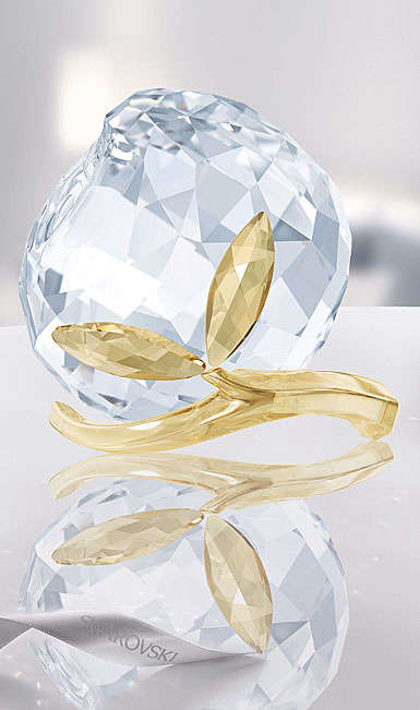 Swarovski Crystal, Asian Peach, Golden Shine