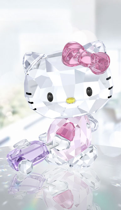 Swarovski Crystal Hello Kitty Traveller