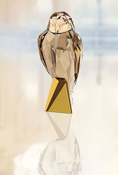 Swarovski Crystal, Owl Sculpture