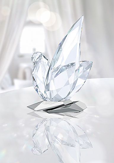 Swarovski Crystal, Feathered Beauties Dove Sculpture