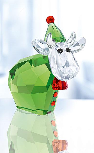 Swarovski Crystal, 2017 Santa's Helper Mo Crystal Figure, Limited Edition