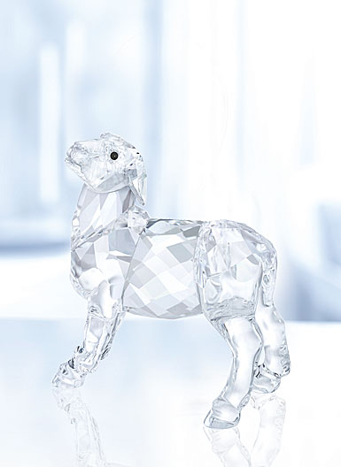 Swarovski Crystal, Nativity Scene, Sheep Crystal Figure