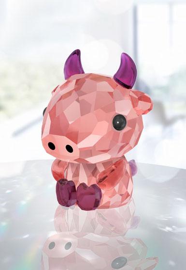 Swarovski Crystal Lovlots Zodiac Dependable Ox