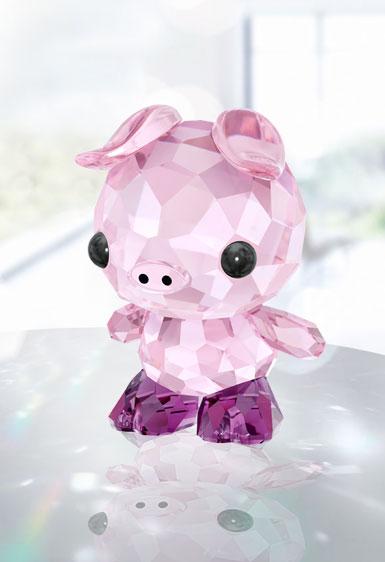 Swarovski Crystal Lovlots Zodiac Determined Pig