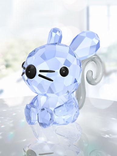 Swarovski Crystal, Lovlots Zodiac Charming Rat