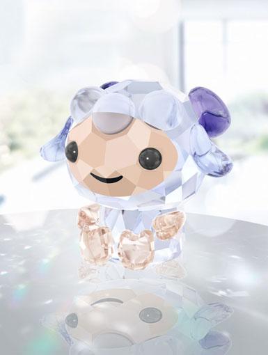 Swarovski Crystal Lovlots Zodiac Sincere Sheep