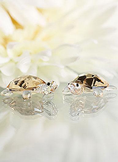 Swarovski Baby Tortoises, Crystal Golden Shadow