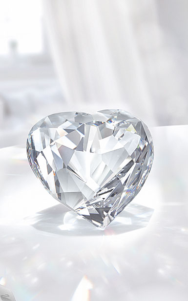 Swarovski Crystal Brilliant Heart, Large