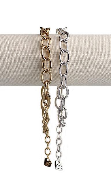 Swarovski Gold Charmed Bracelet