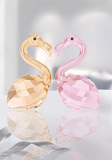 Swarovski Crystal, Lovlots Flamingos In Love, Claude and Claudine