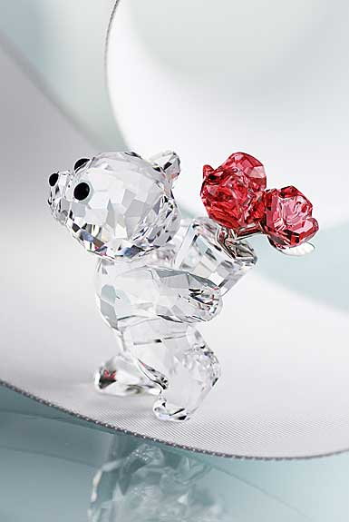 Swarovski Crystal, Kris Bear, Say It With Roses