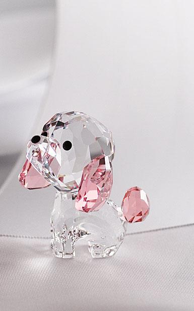 Swarovski Crystal, Puppy Rosie The Poodle