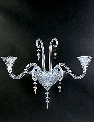 Baccarat Mille Nuits 2 Light Wall Sconce