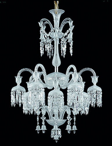 Baccarat Crystal, Solstice 12 Light Crystal Chandelier