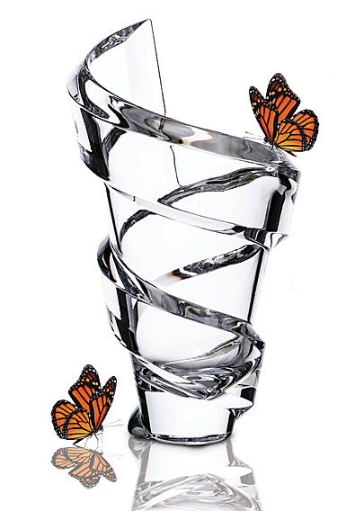 "Baccarat Crystal, Spirale 16"" Crystal Vase, Limited Edition of 500"