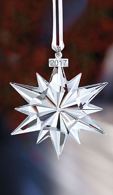Swarovski Crystal, Annual Edition 2017 Crystal Christmas Ornament