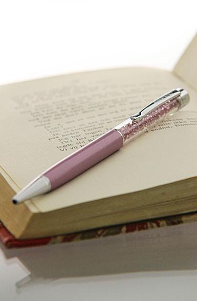 Swarovski Crystalline Ballpoint Pen Purple Pearl, Light Amethyst