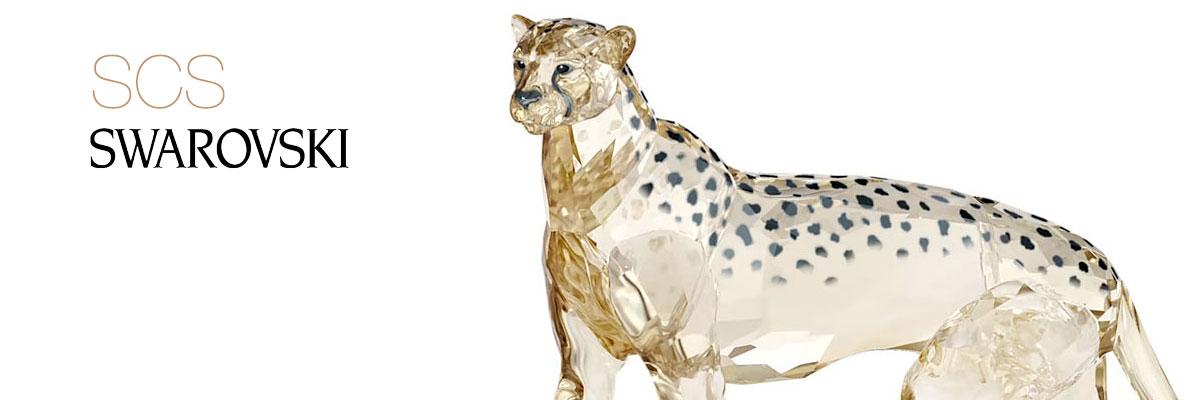 3b3eaa62c Swarovski Crystal, SCS Annual Edition 2019 Amur Leopard Sofia, $499.00