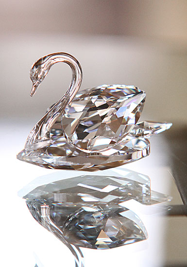 Swarovski Swan, Large 3in