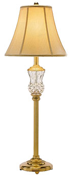 Waterford Thistle Lamp and Shade, 32""