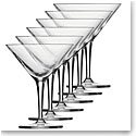 Schott Zwiesel Tritan Crystal, Charles Schumann Basic Bar Classic Crystal Martini, Set of Six